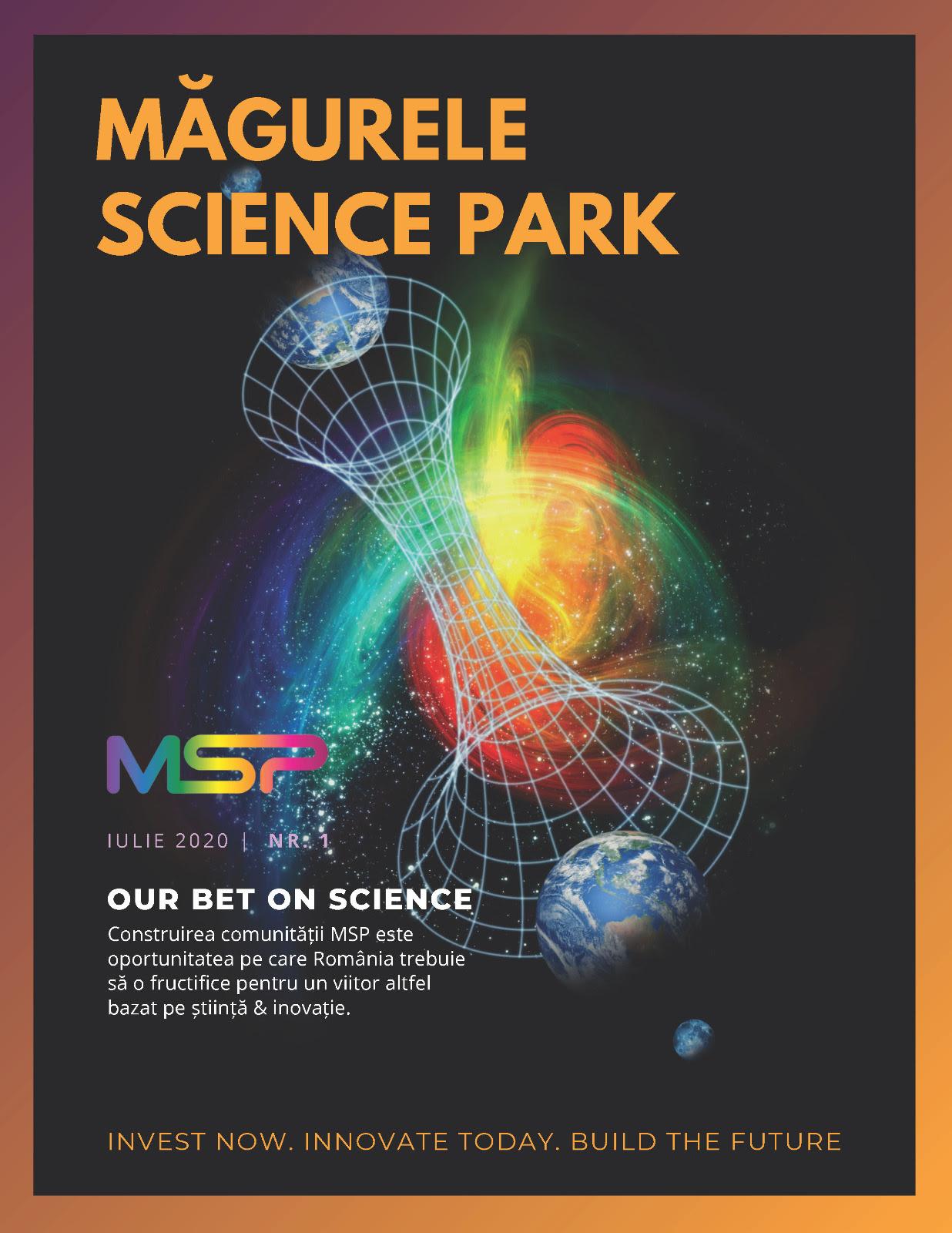 revista Măgurele Science Park