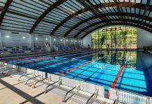 Singurul bazin de înot semiolimpic omologat de la noi, la Școala 190 din București