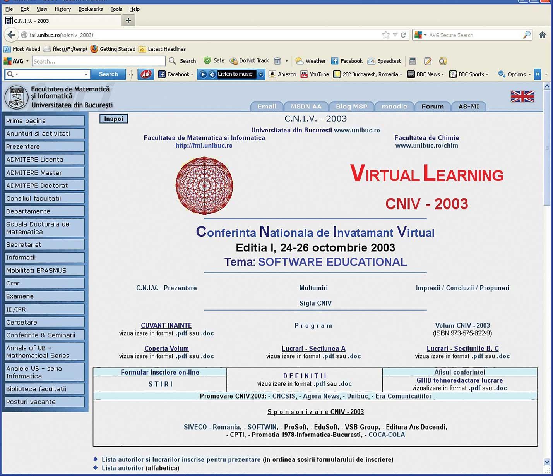 Proiectele de bune practici CNIV & ICVL în mediile preuniversitar și universitar