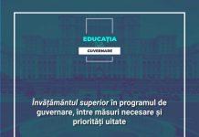 Studenții și studenția în programul de guvernare