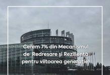 7% din Mecanismul de Redresare și Reziliență pentru tineri!