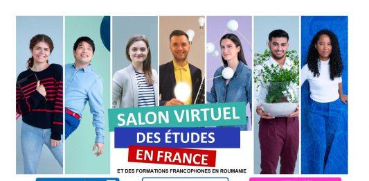 Salonul virtual al studiilor în Franța și al formărilor universitare în limba franceză din România