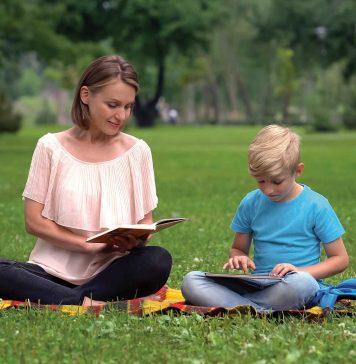 Lectura în timpul școlii online