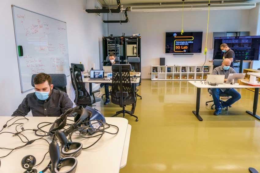 Primul laborator 5G din România, la institutul Campus al Politehnicii din București