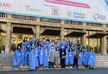 500 de studenți de la UMF Carol Davila, voluntari la maratonul vaccinării